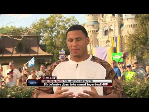 ESPN | Super Bowl MVP Malcolm Smith Celebrates at Disney World