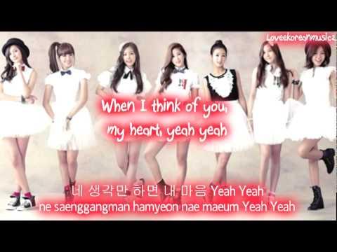 A Pink - Yeah [Eng Sub + Romanization + Hangul] HD