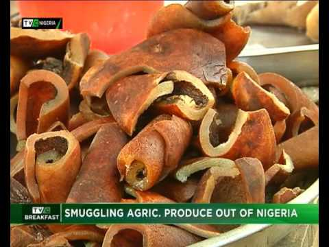 Smuggling Agric Products out of Nigeria