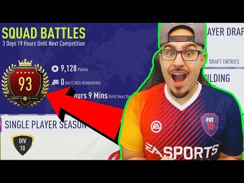 OMG WE GOT TOP 100 IN THE WORLD SQUAD BATTLES!! FIFA 18 Ultimate Team