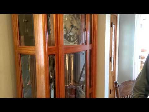 living-estate-sale-preview---hydesville---part-11-grandfather-clock---royal-scotsman-auction