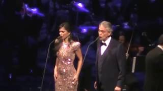 A. Bocelli & larisa Martinez- Time To Say Goodbye/Chicago/Dec/6/2017