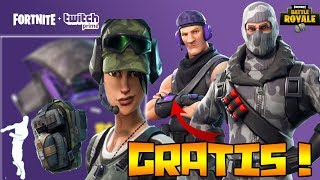 FORTNITE ? HOW TO GET ALL TWITCH PRIME SKINS FOR FREE?! (NO SWEEPSTAKE) XBOX, PLAY, PC