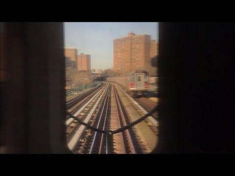 NYC Subway HD 60fps: R142 5 Express Train Cab Window Ride (Nereid Av to 3rd Av-149th St) 4/11/17