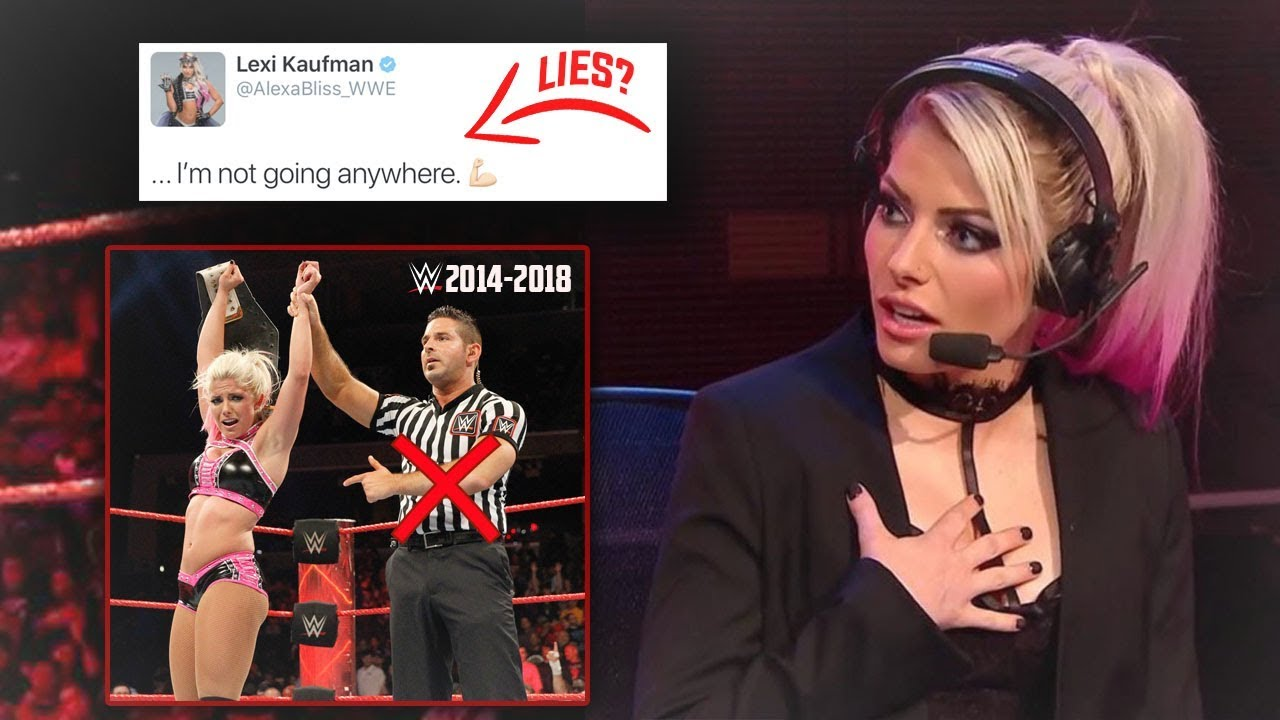 BREAKING: Alexa Bliss Is DONE WITH WRESTLING But WWE Still Has These MAJOR PLANS For Her - WWE RAW