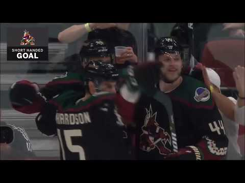 All 9 Arizona Coyotes Shorthanded Goals In first 14 Games of NHL Season 2018-19