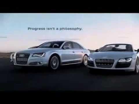 Audi R TV Spot Commercial Advert Footsteps Of Progress - Audi r8 commercial