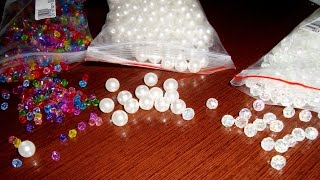 Акриловые бусины в виде кристаллов и жемчуга из Китая (Aliexpress)(, 2015-05-11T18:32:46.000Z)