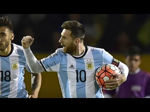 Lionel Messi Carries Argentina to 2018 World Cup with Hat Trick vs  Ecuador- Daily News