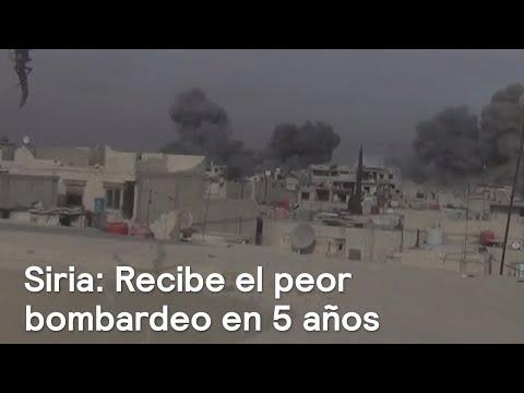 Siria vive los peores bombardeos de los últimos cinco años - Noticias con Karla Iberia