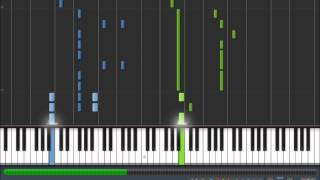 Caramell Dansen Piano Synthesia