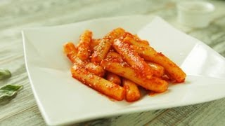 Old-fashioned Stir-fried Rice Cake With Red Pepper Oil, Spicy Girum Tteokbokki, 기름떡볶이