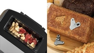 Breadman Bakery Pro Bread Maker With Collapsible Kneading Paddles, Automatic Fruit & Nut Dispenser