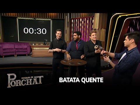 Lucas Veloso e Porchat vencem Paulo Vieira e Cambota no Batata Quente