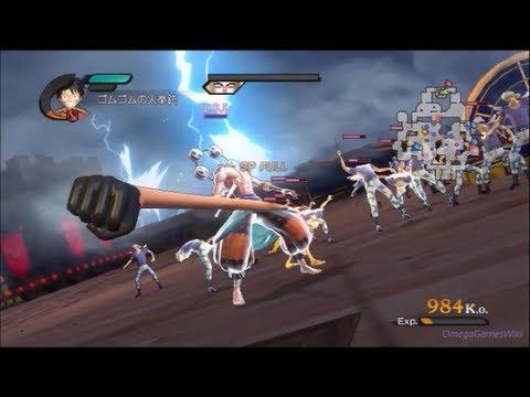 One Piece 海賊無双2序章 第1話 襲いかかる雷神