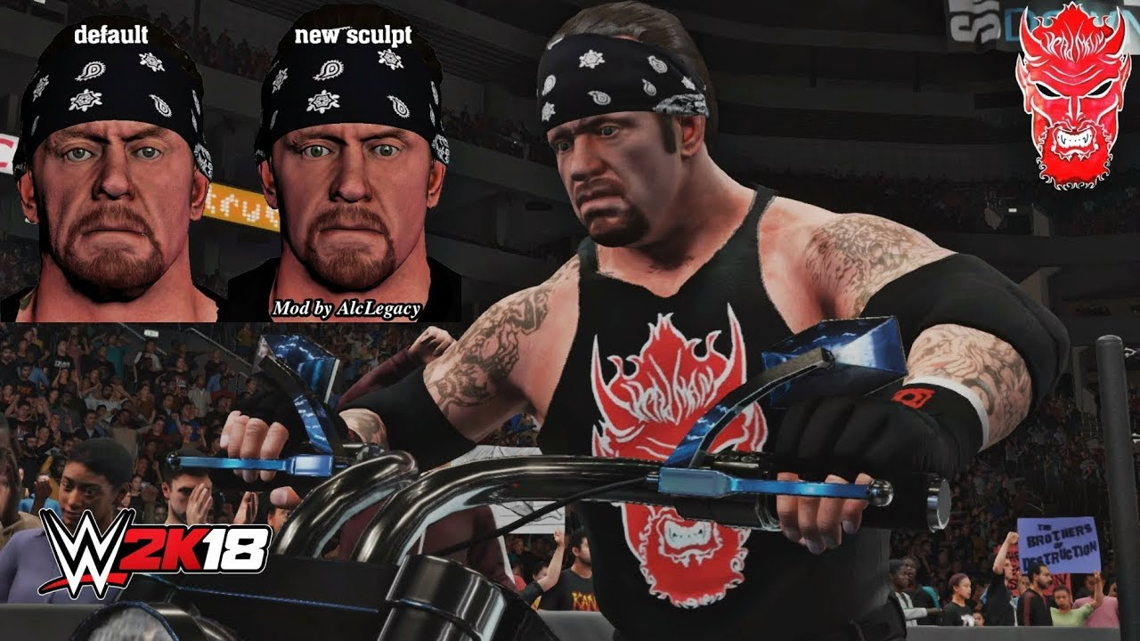 WWE 2K18: The Undertaker Younger Face Big Evil 2002-03 PC