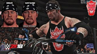 WWE 2K18: The Undertaker Younger Face Big Evil 2002-03 PC Mod w/ Titantron!