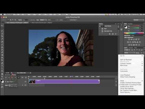 Using The ToonIt Photo Plugin On Video In Photoshop CS6 To Give An Animated / Cartoon Look