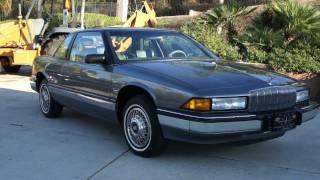 90 Buick Regal Limited 1 Owner 27K Orig Mile Car