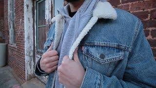 Best Denim Jacket on the Market! Levi's Trucker Sherpa Jacket
