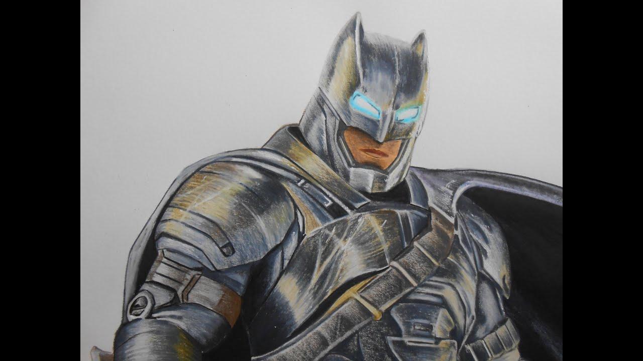 Drawing Armored Batman