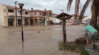 Разгул стихии в Греции