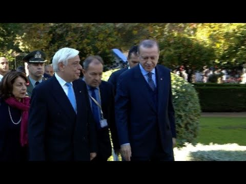 Erdogan launches landmark Greek visit
