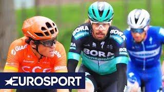 Omloop Het Nieuwsblad 2019 Men's Highlights | Cycling | Eurosport