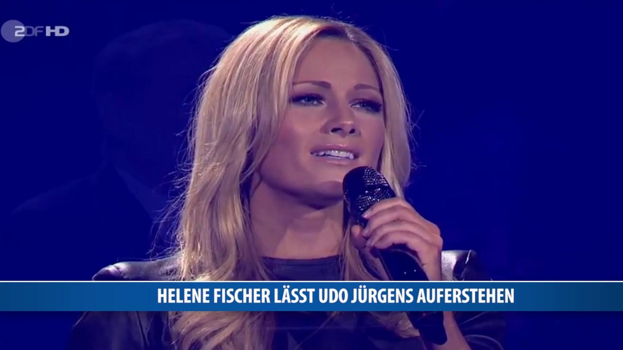 Helene Fischer Lässt Udo Jürgens Auferstehen Youtube