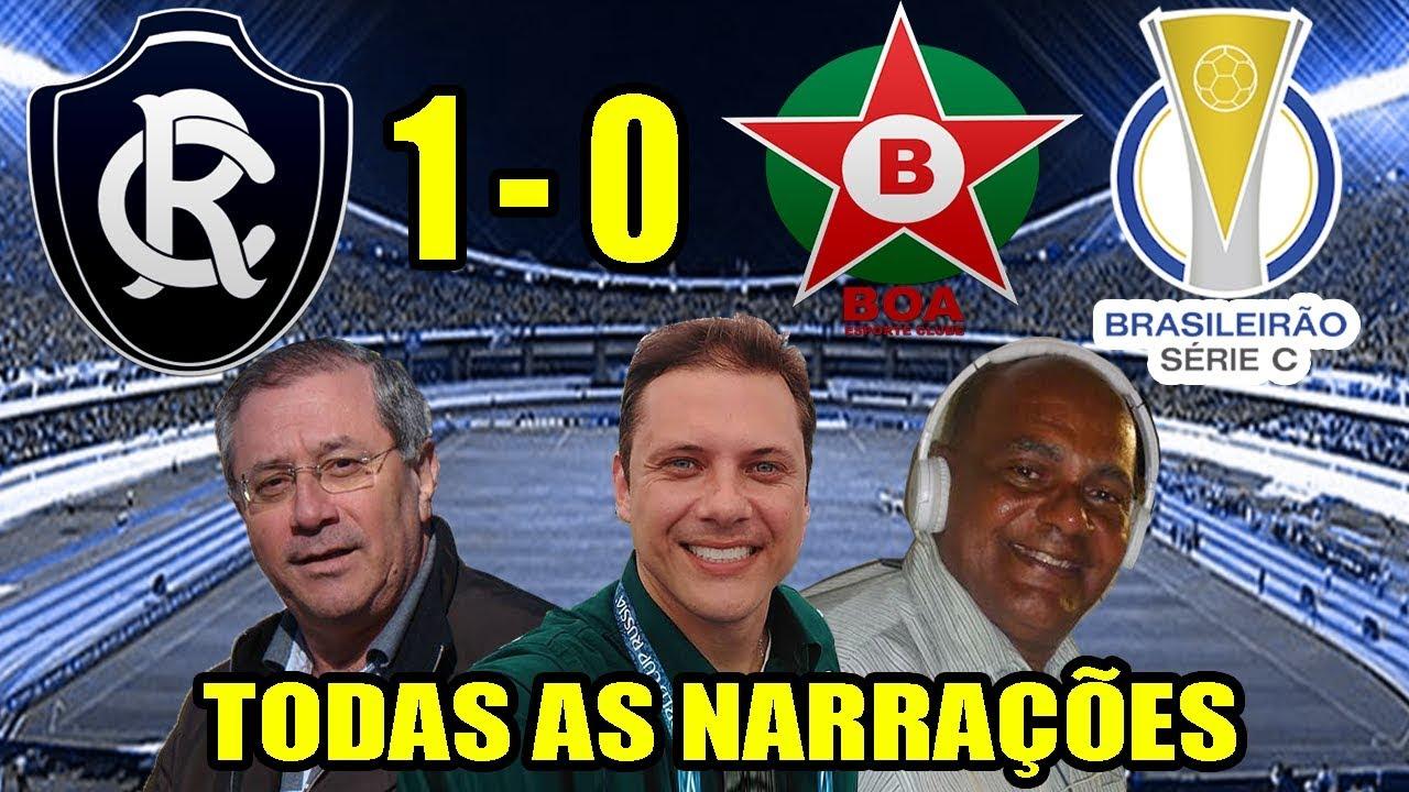 27e28a699 Todas as narrações - Remo 1 x 0 Boa Esporte   Brasileirão Série C 2019