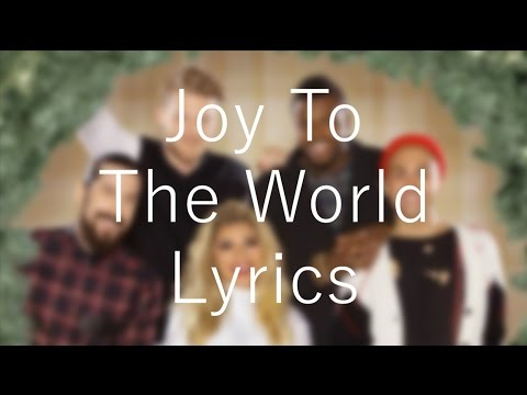 Joy To The World「Pentatonix 」[On Screen Lyrics]