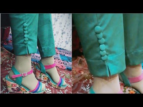 Simple Trouser Cutting In Urdu/Hindi