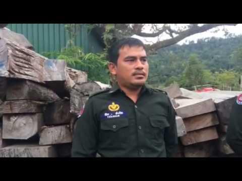 Meet forest ranger Chamroeun