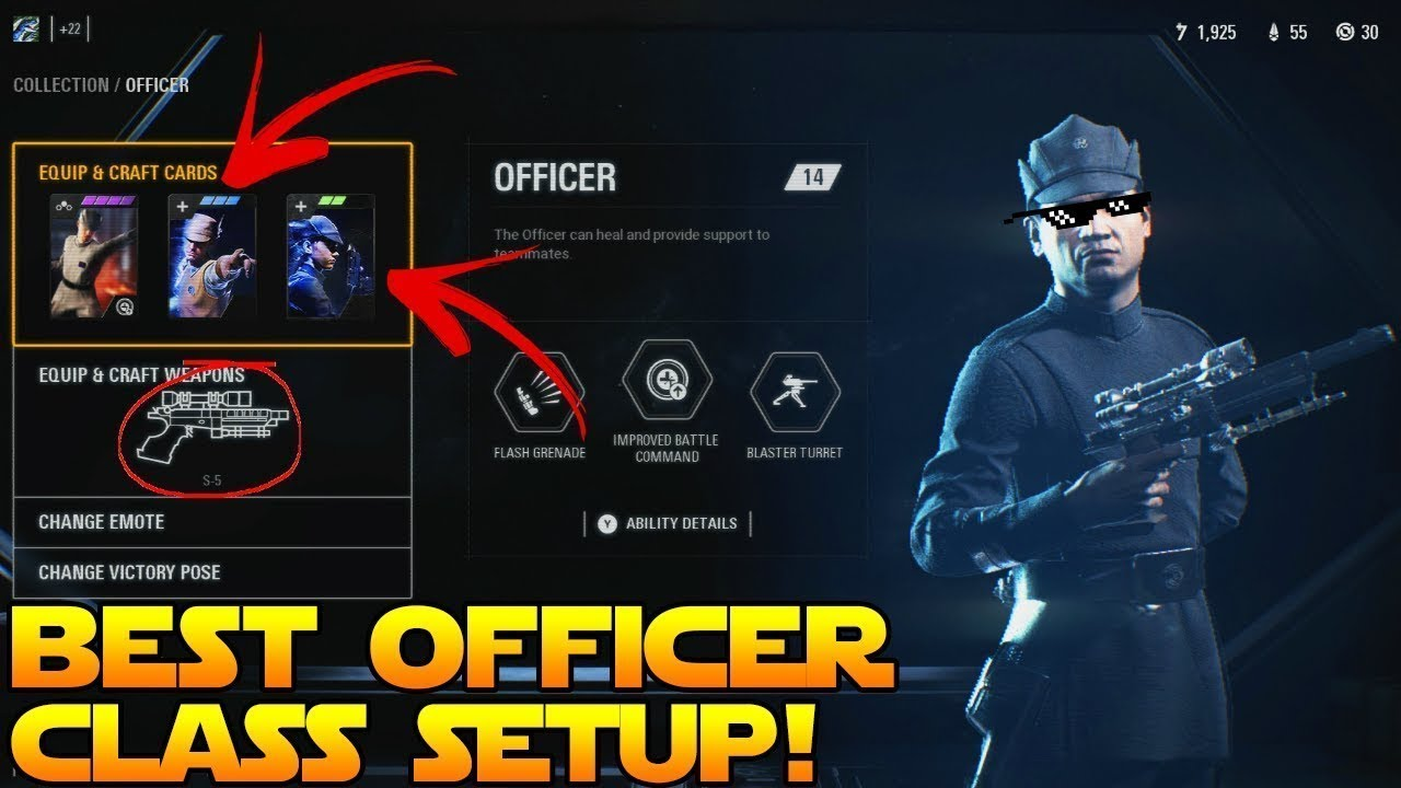 Battlefront 2 Best Officer Class Setup
