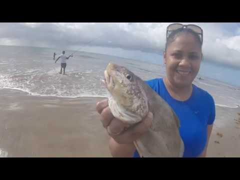 Trip To Icacos Part 1-Tinidad Fishing , Surf Fishing