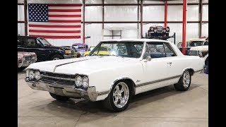 1965 Oldsmobile Cutlass White