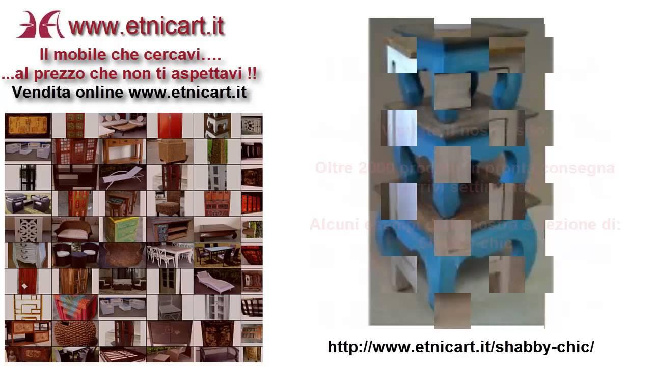 Mobili shabby chic economici online in offerta| Etnicart