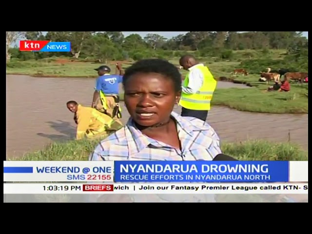 Police in Nyandarua continues with the search of a man believed to have drowned in a river