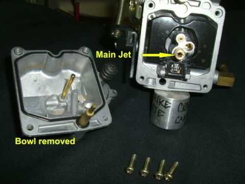 Harley Davidson CV Carburetor Main Jet replacement  YouTube