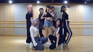 Cover images [OH MY GIRL - Nonstop] dance practice mirrored