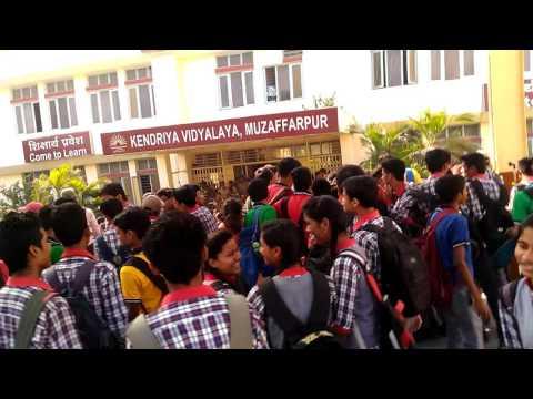 Strike in kendriya vidyalaya muzaffarpur