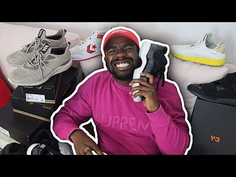 MY ENTIRE SNEAKER COLLECTION!!
