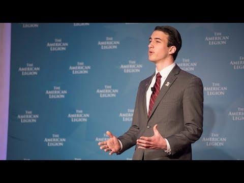 2018 American Legion National Oratorical Contest - Nathan York - Prepared