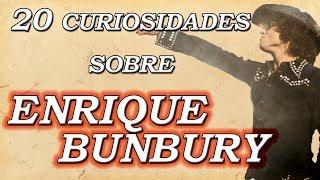 Enrique Bunbury | 20 curiosidades ¿Quién es su mayor influyente musical?