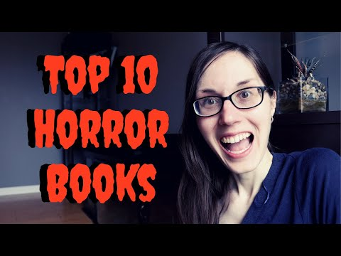 TOP 10 HORROR BOOKS | My Favorite Horror Books | 2020 | #horrorbooks