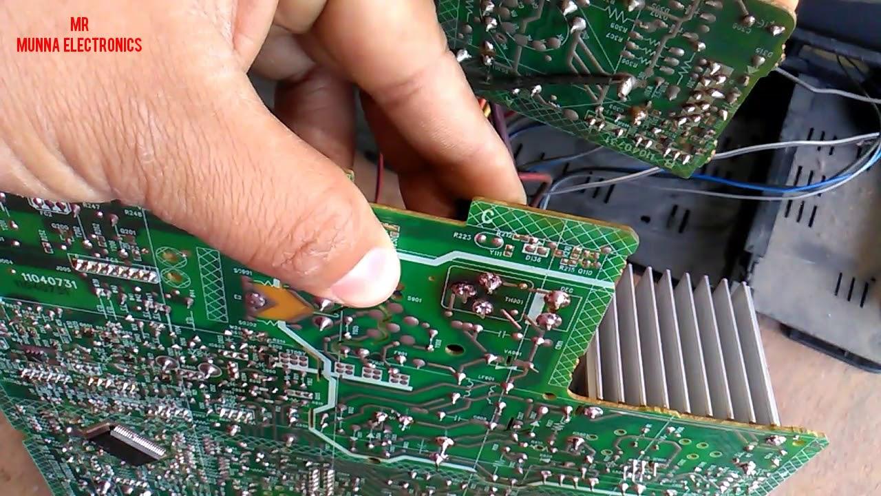 hight resolution of onida ultra slim crt tv repair