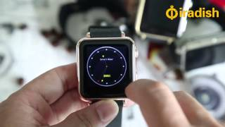 HD Display Bluetooth GSM Mobile Phone Smart Watch Edition or For Apple iOS & Android OS