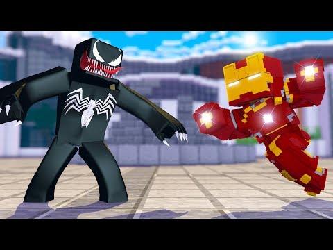 HOMEM DE FERRO VS VENOM: Tony Stark estuda a simbionte