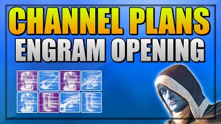 "Destiny Engram Opening "" Strange Coin Hunt"" Channel Plans + Live Stream Information "" Twitch """