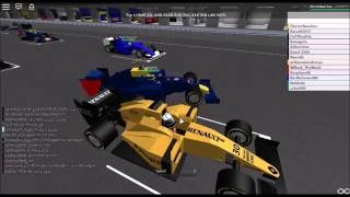 F1 2016 Roblox - Gameplay and WTF